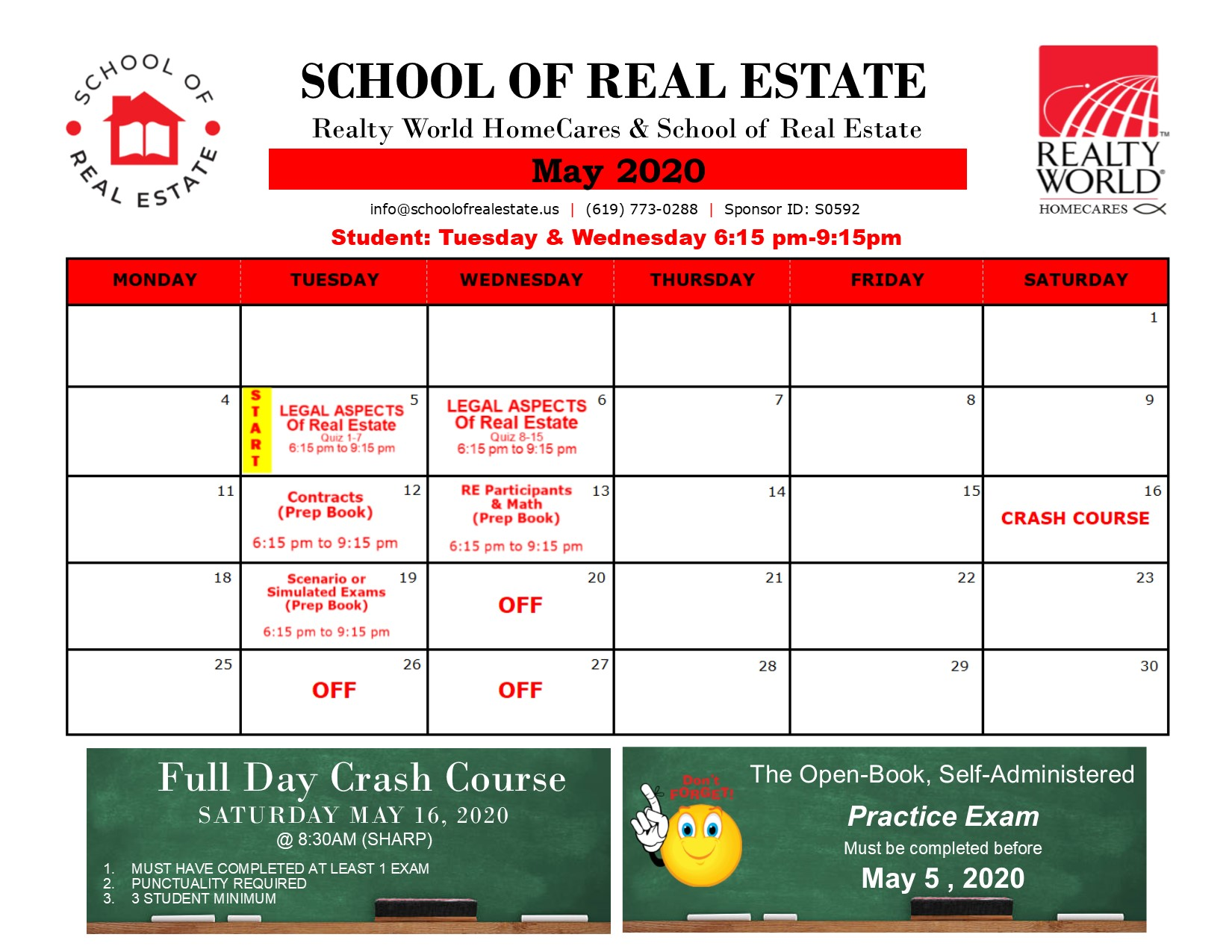 SchoolOfRealEstate_Newsletter_2020May
